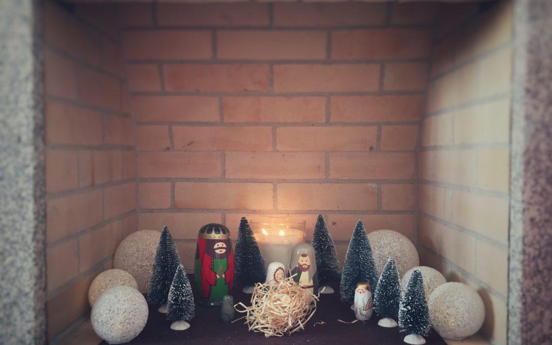 Natal. Família. Doces. Amor. Luzes.